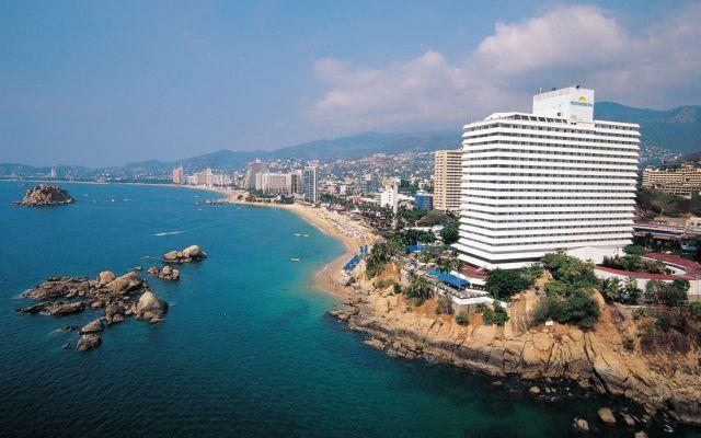 Hoteles de Acapulco alcanzan 93 por ciento de ocupación - Playa Condesa de Acapulco. Foto de webcamsdemexico