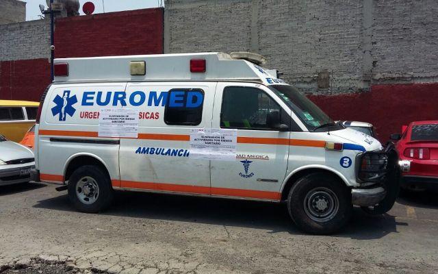 Advierten por ambulancias particulares que lucran en la Ciudad de México - Foto de internet