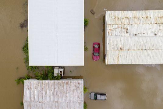 #Fotos Inundaciones provocan evacuaciones en EE.UU. - Foto de AP