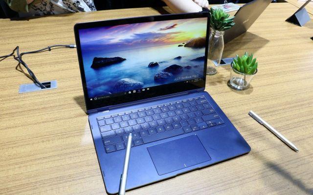 Asus presenta la laptop más delgada del mundo