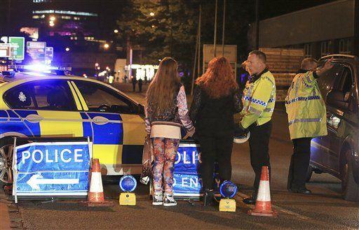 Suman ocho sospechosos detenidos tras ataque en Manchester - Foto de AP