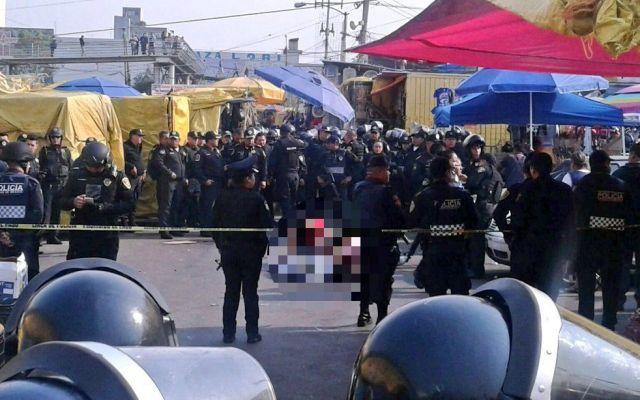 Asesinados en Mercado Sonora pretendían robar a conductor: testigos - Foto de Twitter