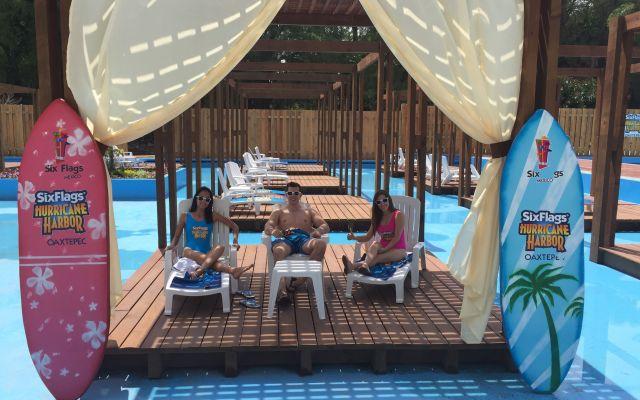 Inaugura Six Flags parque acuático en Oaxtepec
