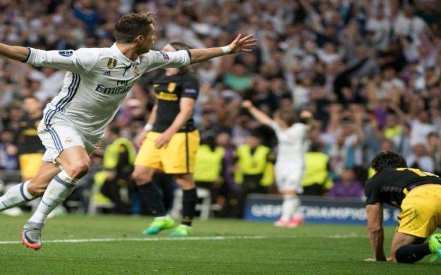 Cristiano Ronaldo pone al Real Madrid con un pie en la final de la Champions - Foto de Twitter