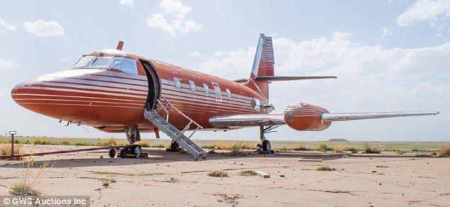 Subastarán el último avión privado de Elvis Presley - Foto de GWS