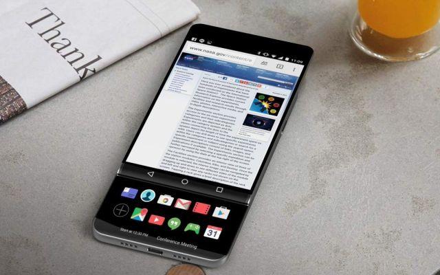 Nuevo teléfono de LG podría tener doble pantalla deslizable - Foto de @evleaks