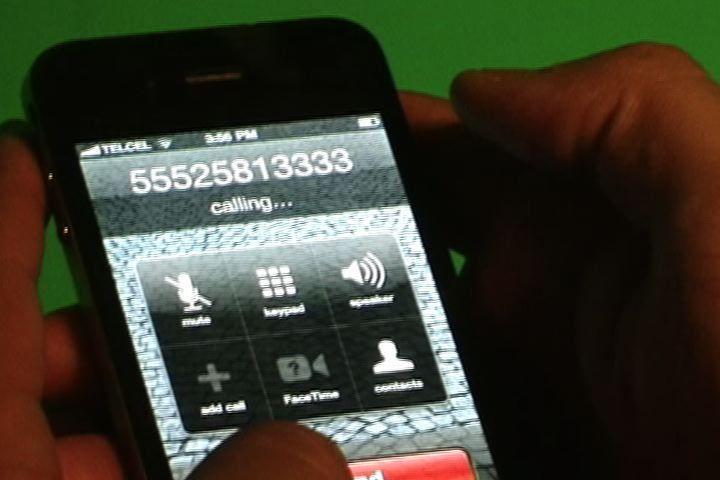 PF pide no contestar llamadas del mismo número de celular