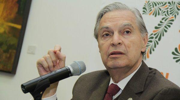 Luis Ernesto Derbez reitera deseo de ser candidato presidencial - Luis Ernesto Derbez. Foto de Archivo