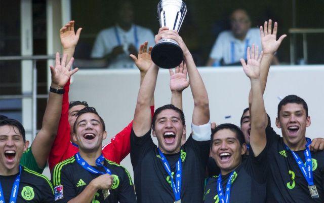 Selección sub-17 se corona campeona de CONCACAF