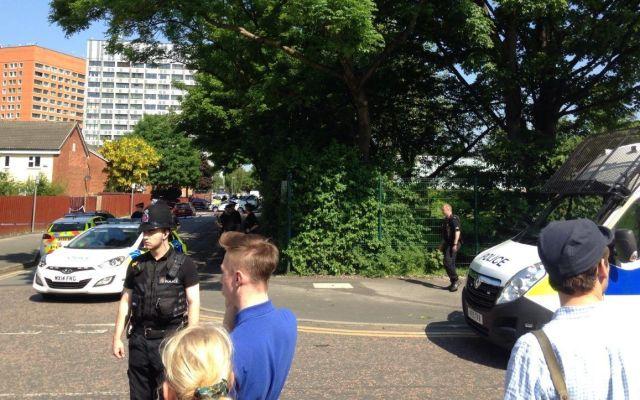 Paquete sospechoso provoca falsa alarma en Manchester