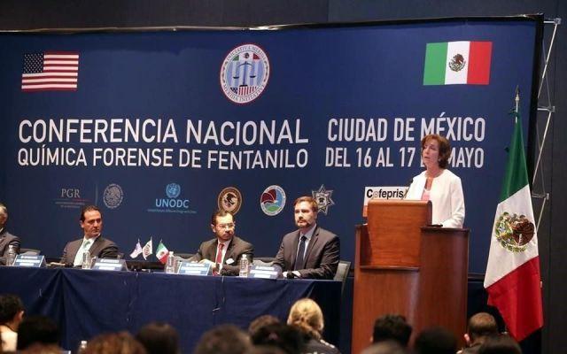 Roberta Jacobson llama a trabajar en conjunto contra el narcotráfico - Foto de @LibreExpresionY