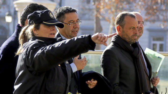 Detienen a expresidente del Barcelona por lavado de dinero - Foto de Marca