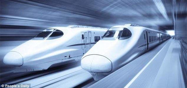 China tendrá el tren bala más rápido del mundo a 600 km/h