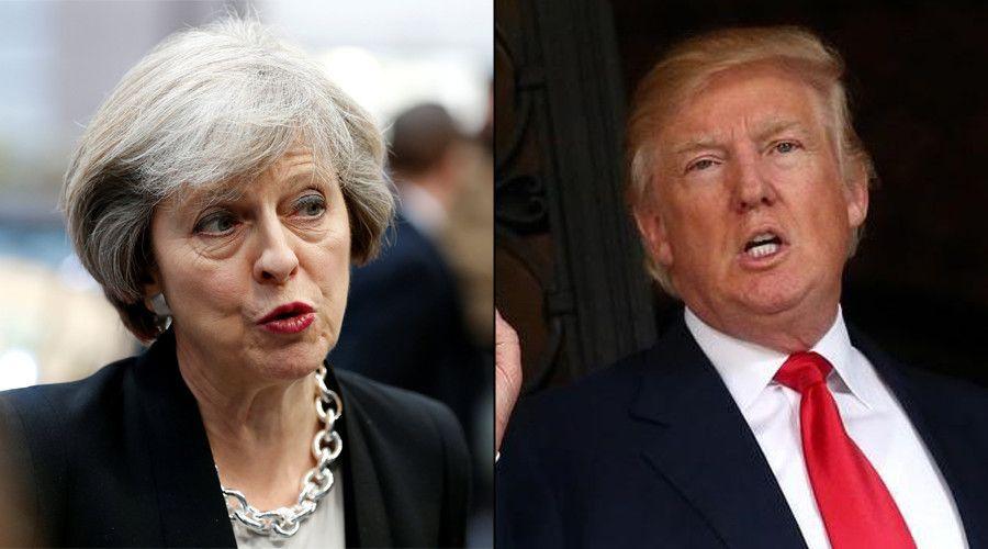 Reino Unido se molesta con Trump por filtración de imágenes de Manchester - Foto de RT