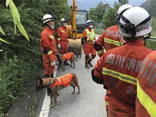 Recuperan 10 cadáveres tras deslave en China - Foto de AP/Ng Han Guan