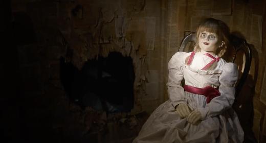 #Video Tráiler de 'Annabelle: La creación'