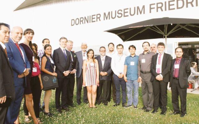 Aurelio Nuño participa en el 67 Encuentro de Premios Nobel en Lindau, Alemania