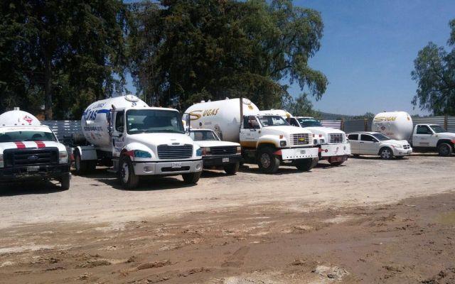 Aseguran toma clandestina de gas en Tepotzotlán
