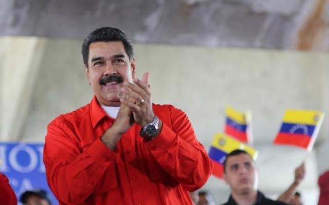 Maduro excluye a partidos opositores de elecciones presidenciales - Foto del Palacio de Miraflores via REUTERS