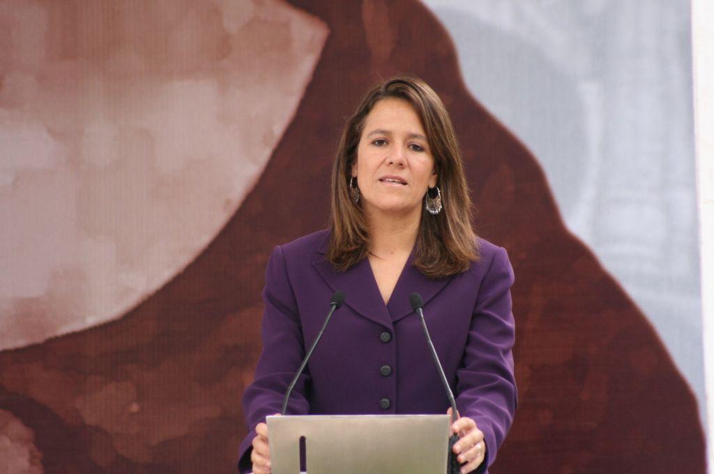 Margarita Zavala alcanza el 100 por ciento de las firmas - Margarita Zavala. Foto de Vanguardia