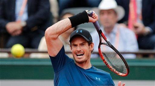 Murray vence en tres sets a del Potro en Roland Garros