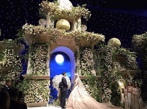 Oligarca ruso gasta 10 mdd en boda de su hija - Foto de Instagram
