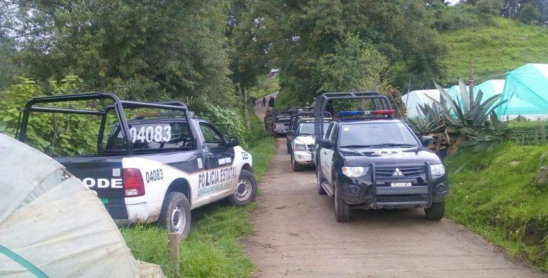 Comando ataca a agentes del Estado de México en Tierra Caliente - Foto de Quadratín.