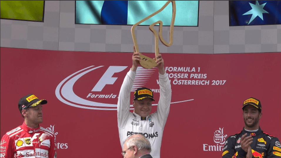 Bottas gana el Gran Premio de Austria - Foto de @RaulZambrano7