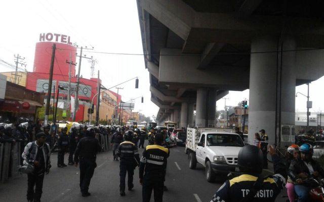 Al menos 27 detenidos por bloqueos en Tláhuac