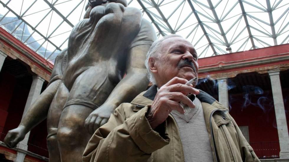 José Luis Cuevas. Gran artista, pintor original, polémico único - Foto de Cuartoscuro