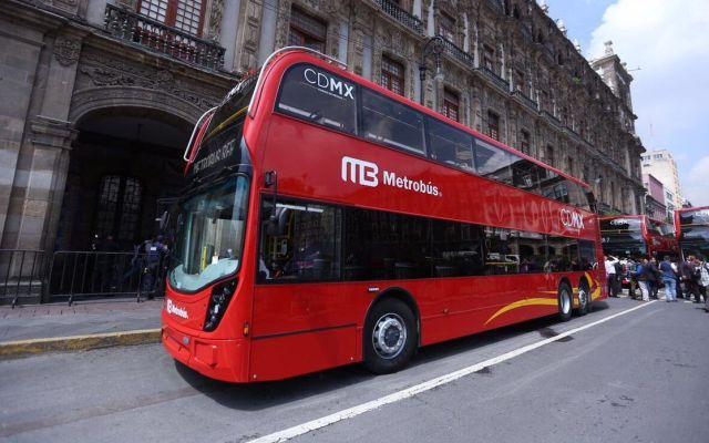 Línea 7 del Metrobús presenta avance de más del 80 por ciento - Foto de @ManceraMiguelMX