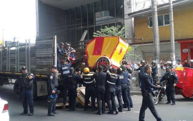 Prevén retiro de mototaxis en Tláhuac - Foto de Quadratín