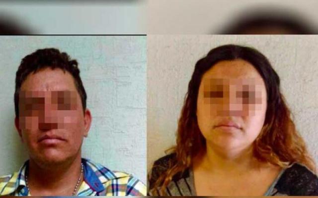 Detienen a pareja por violencia contra menor en Sonora