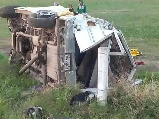 Volcadura deja cinco muertos en Aguascalientes