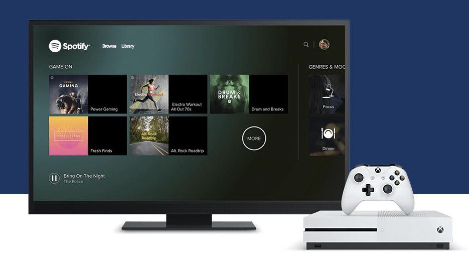 Spotify ya está disponible en Xbox One - Foto de Xbox