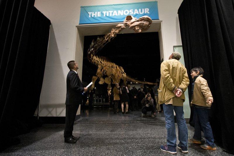 El Patagotitán, el más grande de todos los dinosaurios