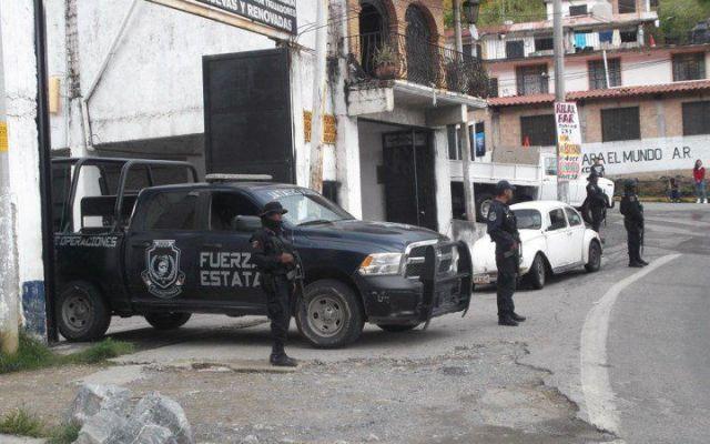 Matan a cinco en taller mecánico de Taxco