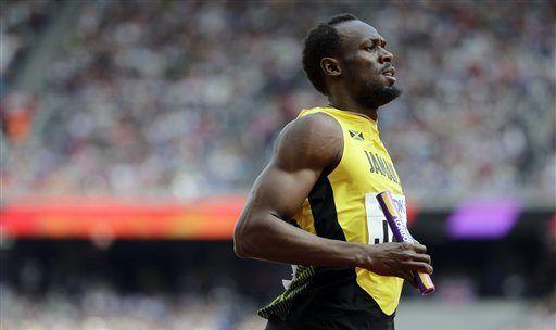 Bolt se prepara para su última salida a la pista - Foto de AP