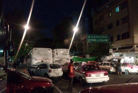 Campesinos bloquean calles de la Ciudad de México en protesta