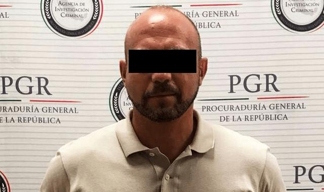Detienen en Cancún a sujeto requerido en EE.UU. por tráfico de drogas - Foto de PGR