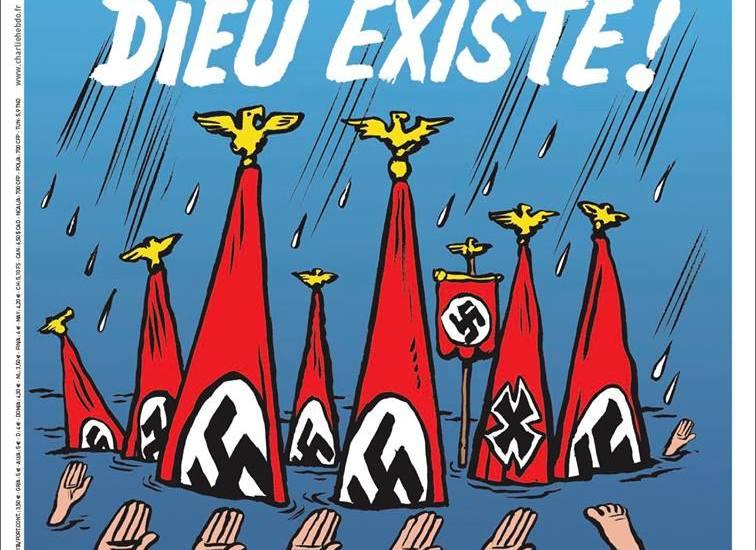 Charlie Hebdo se burla de la tragedia en Texas - Foto de Facebook