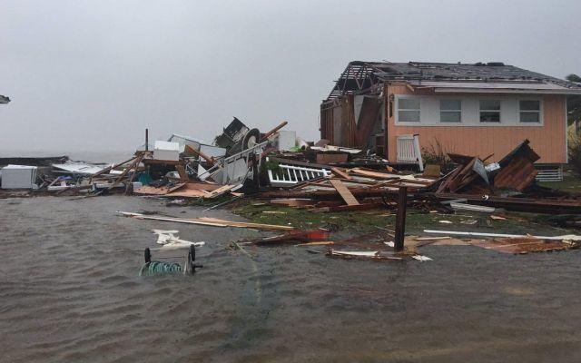Harvey dejó destrozos generalizados: alcalde - Foto de @Jeff_Piotrowski