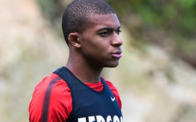 Mbbapé discutió en entrenamiento del Mónaco