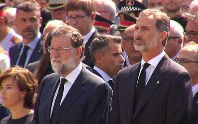Minuto de silencio en España por atentado en Barcelona - Foto de @isrubio