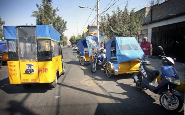 El Ojos operó una red de mil mototaxis en Tláhuac - Foto de Tanya Guerrero