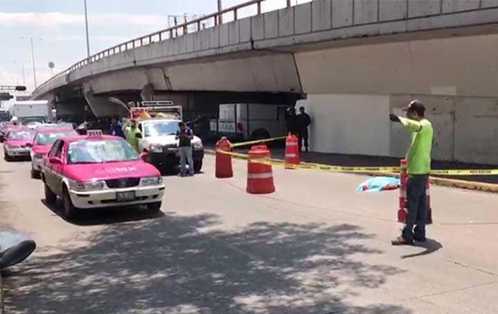 Mujer muere atropellada en Circuito Interior - Foto de Excélsior