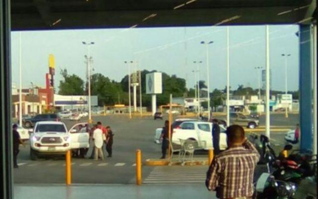 Tiroteo en estacionamiento en Oaxaca deja un muerto - Foto de Patricia Briseño