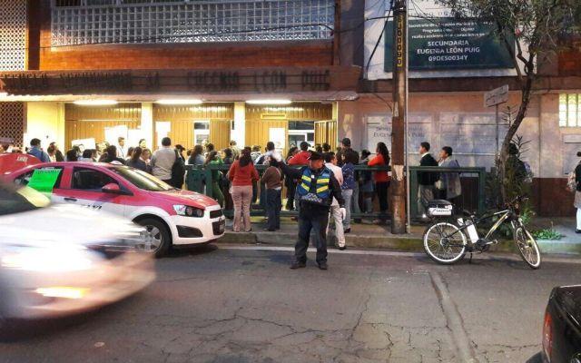 Vigilan regreso a clases 17 mil policías en la Ciudad de México - Foto de SSP