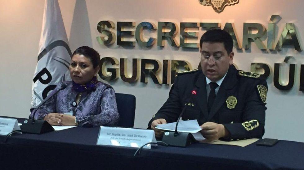 #Video Detienen a cinco por robo a cuentahabiente en Iztacalco - Foto de SSP CDMX