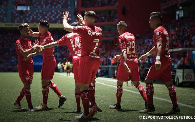 Toluca vence a Atlas  y es líder de la Liga MX - Foto de @TolucaFC
